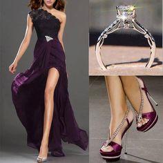 Love dress idea & color!