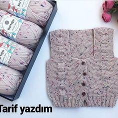 – New Hobby - Stricken Baby Knitting Patterns, Knitting Blogs, Knitting For Beginners, Hand Knitting, Crochet Patterns, Crochet Designs, Knitting Designs, Knit Vest Pattern, Knitted Baby Cardigan