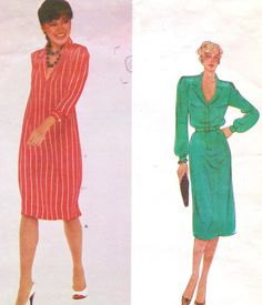 1970s Vogue American Designer Sewing Pattern 2437 by CloesCloset, $16.00