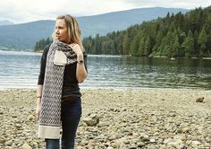 Ravelry: Inlet Scarf pattern by Inese Sang