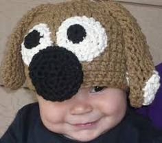 Gorro crochet perro