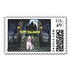 Beagle Halloween Postage