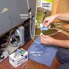 DIY how to repair a refrigerator step-by-step