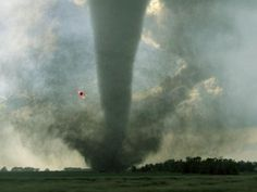 This tornado swirled across this South Dakota prairie with wind speeds of 158 to 206 mph. It was classified as an tornado. Tornados, Thunderstorms, Severe Weather, Extreme Weather, Strange Weather, Natural Phenomena, Natural Disasters, South Dakota, North Carolina