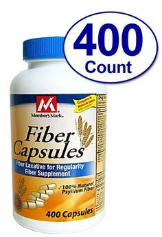 400 Capsules Fiber Therapy for Regularity/Fiber Supplement - Compare to the Active Ingredient in Metamucil Capsules *** Learn more by visiting the image link.