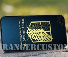 Attack on titan scouting legion iPhone by rangercustommumet, $15.00