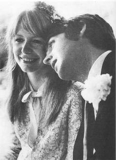 Paul McCartney and Jane Asher, Mike McCartney's wedding, June 1968