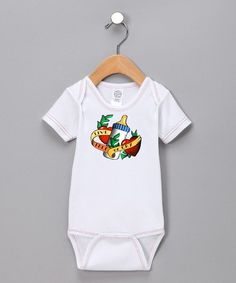 Take a look at this White 'Live Free or Cry' Bodysuit - Infant by Very Excellent Baby on #zulily today!