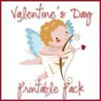 Valentine's Day printables for preschool and kindergarten children {Homeschool Creations}.