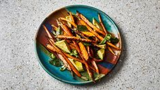 Grilled Carrots with Avocado and Mint Recipe | Bon Appetit