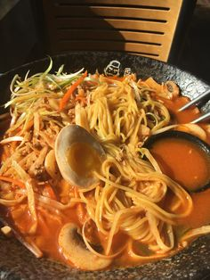Japchae, Ramen, Spaghetti, My Favorite Things, Ethnic Recipes, Food, Essen, Meals, Yemek