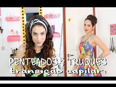 MEU NOVO CABELO CACHEADO + DIYs ACESSÓRIOS FOFOS DE CABELO | Transição Capilar - YouTube