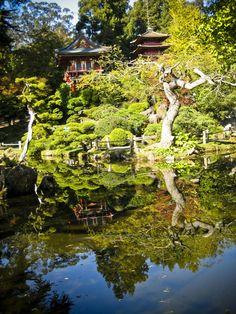 Japanese Tea Garden, Golden Gate Park, San Francisco, CA :)
