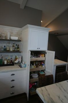 Lake Minnetonka Cabinetry and Millwork  by Joseph Otto Enterprises Roll Out Shelves, Home Remodeling, Pantry, Joseph, House, Pantry Room, Butler Pantry, Home, Larder Storage