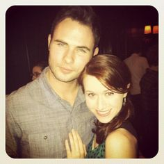 Daniel Gordh and Ashley Clements from The Lizzie Bennet Diaries ♥ pretty sure I want them ti be a real couple.