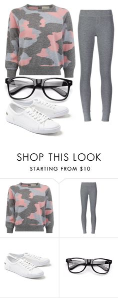 """""""Untitled #81"""" by fangirling0ver-lae ❤ liked on Polyvore featuring ATM by Anthony Thomas Melillo and Lacoste"""