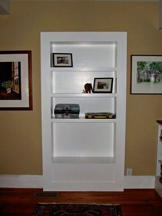 doorway converted to shelves - Google Search
