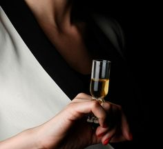 Wear Your Wine Glass As A Ring On Your Finger