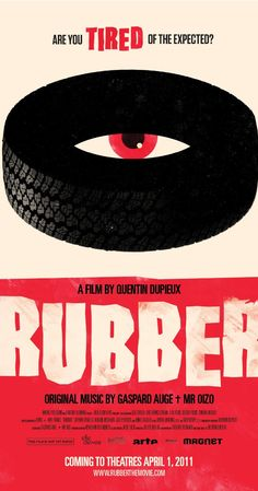 Rubber (2010).  I think I will have to watch this right away.