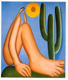 Tarsila do Amaral Abaporu 1928, Óleo sobre tela