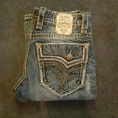 Men's rock revivals Excellent condition rock revivals men's  perfect for your guy Rock Revival Jeans Boot Cut