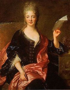 Élisabeth Jacquet de La Guerre (n.d.) -  François de Troy (França, 1645-1730). Probably late 17th-century or turn of the 18th century. | De La Guerre, a child prodigy who enjoyed the patronage of Louis XIV, was one of France's first notable woman composers, and the first known French woman to write an opera, Céphale et Procris.