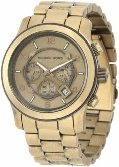 Michael Kors Men's MK8227 Runway Bronze Tone Stainless Steel Watch Michael Kors. $166.00. Case Thickness: 14.5mm. Deployant Closure. Case Diameter: 45mm. Chronograph. Save 34%!