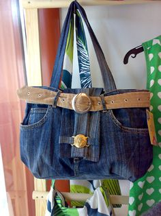 Kierrätys farkkulaukku - Recycled jeans bag Tote Bag, Jeans, Fashion, Mariana, Bags, Jewerly, Moda, Fashion Styles, Totes