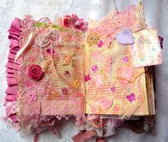 MY SHABBY FRENCH LIFE: BOOK altered SHABBY CHIC - SHABBY CHIC ALTERED BOOK