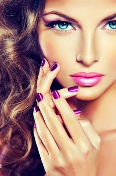 .Makeup and nails