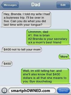 Serves him right, and goo on Brian for not taking the bribe. Cheating is not okay.