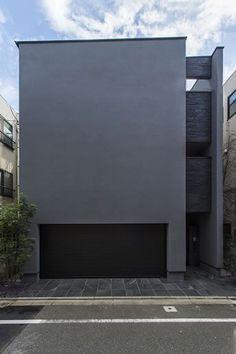 シンプル 建築 - Google 検索 Colour Architecture, Minimal Architecture, Stairs Architecture, Sustainable Architecture, Contemporary Architecture, Modern Tiny House, Box Houses, Minimalist Home, Black House