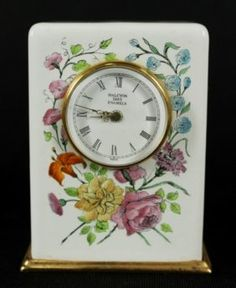 Halcyon Days Enamels Clock