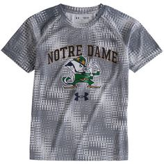 Youth Under Armour Steel Notre Dame Fighting Irish Novelty Tech Performance…