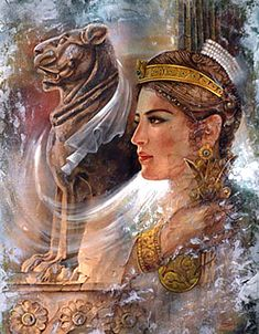 Azadokht (Free Girl) [3 AD] Shapour I the Great (241 - 272) Queen of Iran and wise wife of Shapour the Great