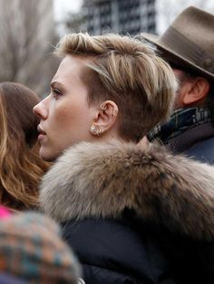 Scarlett Johansson at the Women's March in Washington 01/21/2017-5