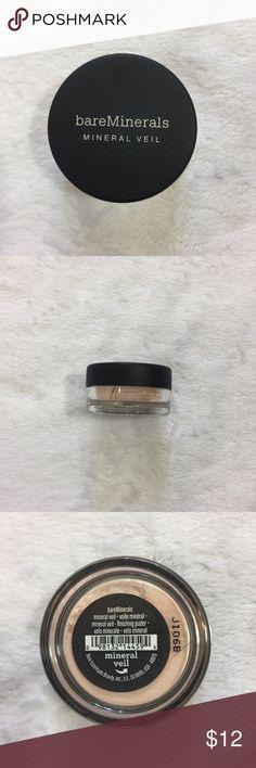 Bare Minerals Mineral Veil Sample Size Sealed Travel sample size. bareMinerals Makeup Face Powder
