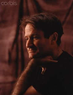 Robin Williams, 1989 © Eddie Adams/Corbis