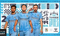 Coventry City 2021/22 hummel Home and Away Kits