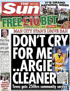 Or coming up with amusing tabloid headlines. | 33 Things Brits Do Better Than Everyone Else