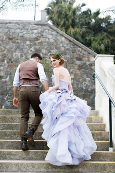 Vivian Luk: http://www.stylemepretty.com/2015/05/21/the-most-gorgeous-fashion-forward-wedding-dresses-ever/