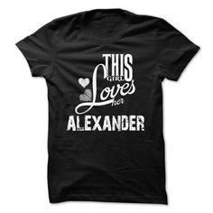 cool This guy loves his ALEXANDER t shirts Check more at http://cheapnametshirt.com/this-guy-loves-his-alexander-t-shirts.html