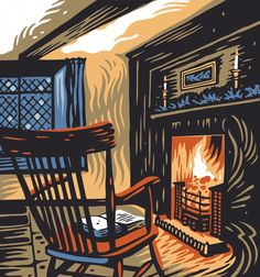 'The Thrilled Fire' by Tom Duxbury. Taken from 'Dorothy Wordsworth's Christmas Birthday' a poem by Carol Ann Duffy.