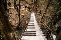 My Road Trip Travel Agency: Παύλιανη η... εξώκοσμη Railroad Tracks, Greece, Stairs, Destinations, Stairways, Ladder, Staircases, Travel Destinations, Grease