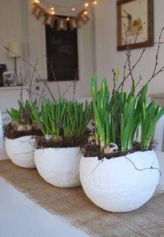 Diy Para A Casa, Summer Decoration, Fleurs Diy, Diy Ostern, Deco Floral, Simple Gifts, Diy Home Crafts, Easter Baskets, Easter Crafts
