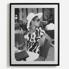'Palm Bay Club' Framed Print - Slim Aarons, from £195 at surfaceview.co.uk