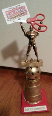 BoxTops trophy