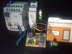 ESP8266 Scada SVG Modbus RTU + PLC Panasonic FPX C14R