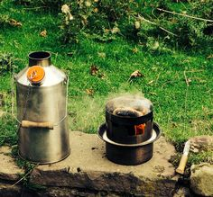 Kelly kettle w/ new Hobo stove attachment