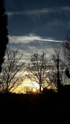 December evening #sky